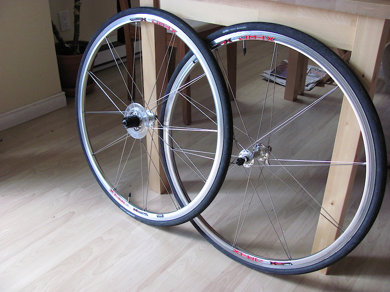 pair de roues formula xero xsr 3 avec pneus. Black Bedroom Furniture Sets. Home Design Ideas